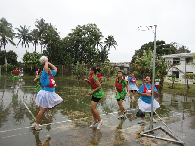 Women in Tonga take on leadership roles, create networks and improve their health through playing netball. Photo by Australian Sports Commission http://creativecommons.org/licenses/by/2.0/