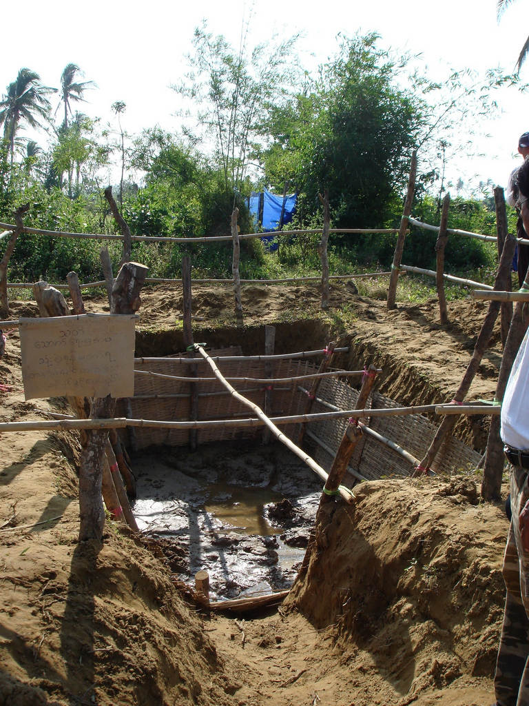 This well is the main source of fresh water for a rural village in Myanmar. Photo by Marianne Jago for AusAID