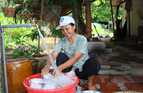 Clean running water in homes improves health and reduces work in Vietnam.