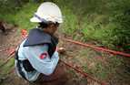 Highly trained, well-equipped de-miners check land to find and destroy landmines and unexploded ordnance in Cambodia.