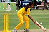 The 'Fair play for girls' campaign in Pakistan helps promote Meena's message of 'A girl who plays sport remains healthy and sound'.