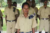 The recruitment of women police in Papua New Guinea is helping to achieve a just, safe and secure society for all.