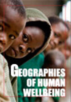 Geographies of human wellbeing cover