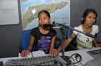 At the Independent Centre for Journalism, young East Timorese women and men participate in education and training courses to produce quality news stories.