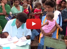 This video outlines the work being done to achieve the fourth Millennium Development Goal and profiles the efforts to improve health and health education in rural Papua New Guinea.