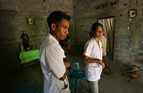 Trainee doctors educate people on the health benefits of good hygiene and sanitation in local villages in Timor Leste.