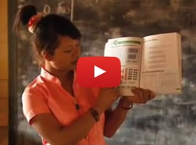 This video looks at addressing poverty in Laos through education.